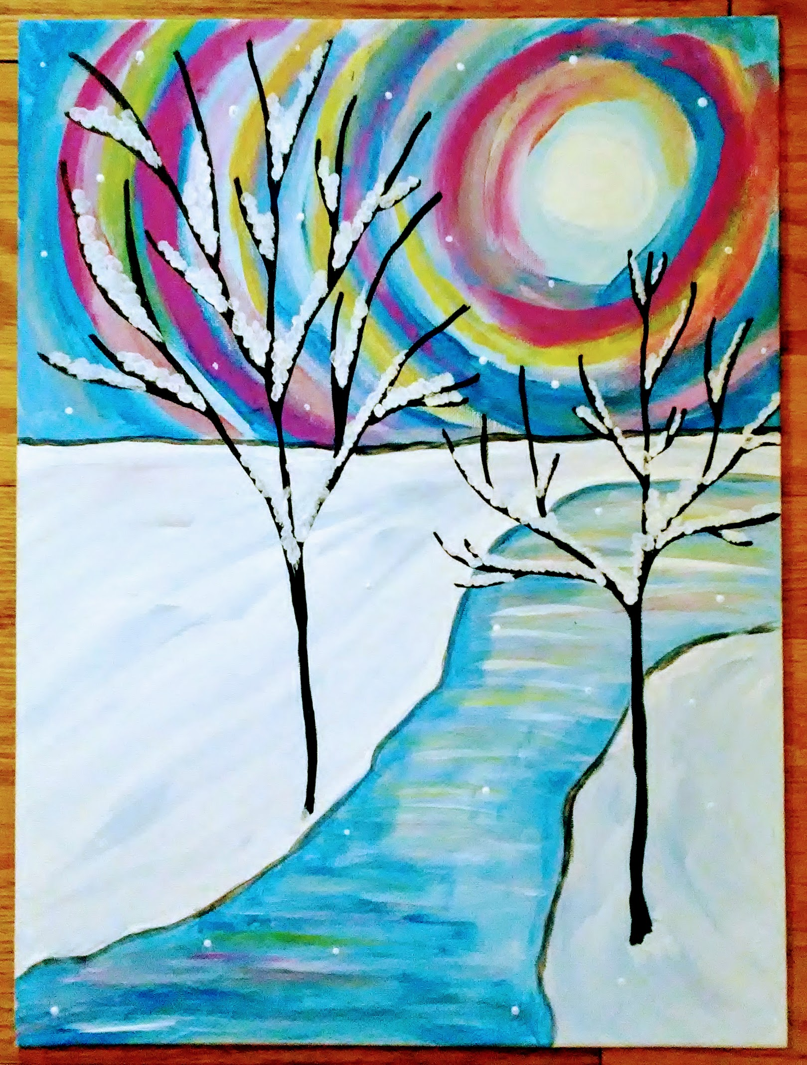 Fauquier Hospital Paint Night Rescheduled to February 27th